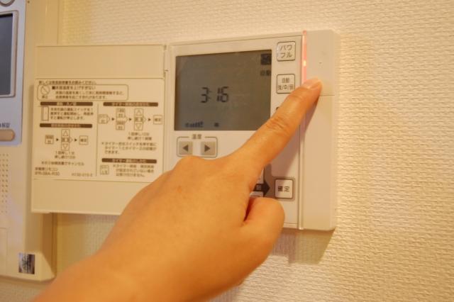 暖房が使える!